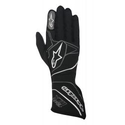 Race gloves Alpinestars Tech 1ZX with FIA (outside stitching) grey