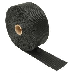 Bandă termoizolantă pentru admisie/evacuare DEI - 50mm x 15m Titanium Black