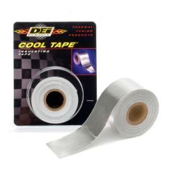 Bandă adezivă protecție termică DEI - 50mm x 18m Aluminium