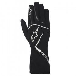 Mănuși Alpinestars Tech 1 K RACE fără omologare FIA - negru / alb