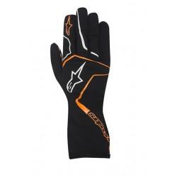 Mănuși Alpinestars Tech 1 K RACE fără omologare FIA - negru / portocaliu