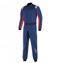 Combinezon FIA ALPINESTARS KMX-9 V2 Blue/Red/White