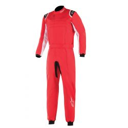 Combinezon FIA ALPINESTARS KMX-9 V2 Red/Black