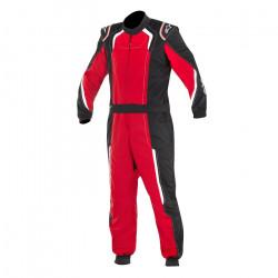 Combinezon FIA ALPINESTARS KMX-5 S karting copii Black/Red/White