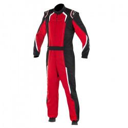 Combinezon FIA ALPINESTARS KMX-5 kart Black/Red/White