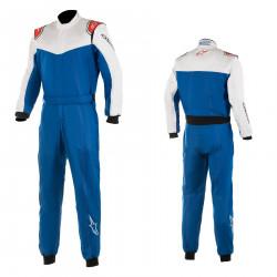 Combinezon SFI ALPINESTARS Stratos Royal blue/White /Red