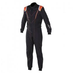 Combinezon FIA ALPINESTARS Super KMX-1 Black/Orange