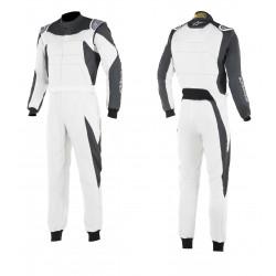 Combinezon FIA/SFI ALPINESTARS GP Race White/Anthracite