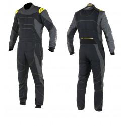 Combinezon FIA/SFI ALPINESTARS GP Race Black/Anthracite/Yellow