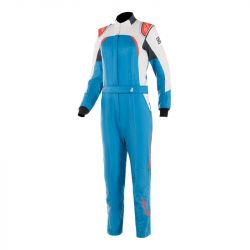 Combinezon damă FIA/SFI ALPINESTARS Stella GP Pro Comp Blue / White / Orange
