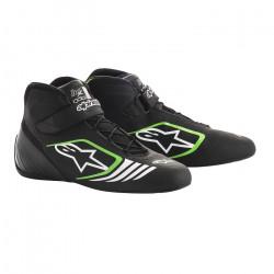 Încălțăminte curse ALPINESTARS Tech-1 KX - Black/Green