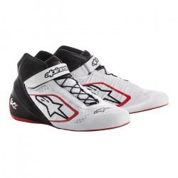 Încălțăminte curse ALPINESTARS Tech-1 KZ - White/Black/Red