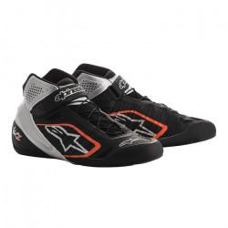 Încălțăminte curse ALPINESTARS Tech-1 KZ - Black/Silver/Orange