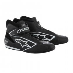 Încălțăminte curse ALPINESTARS FIA Tech 1 T - Black/White