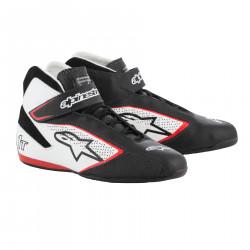 Încălțăminte curse ALPINESTARS FIA Tech 1 T - Black/White/Red