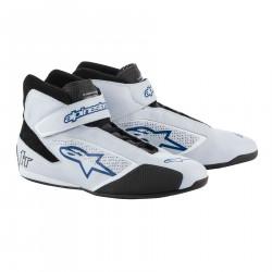 Încălțăminte curse ALPINESTARS FIA Tech 1 T - Silver/White