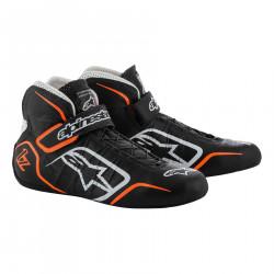 Încălțăminte curse ALPINESTARS FIA Tech 1-Z - Black/White/Orange