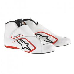 Încălțăminte curse ALPINESTARS FIA Supermono - White/Red