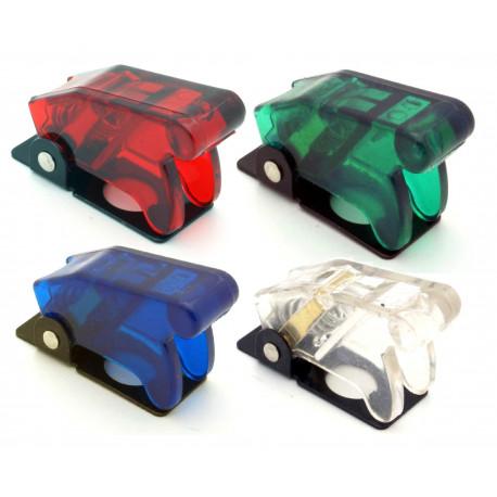 Butoane starter, întrerupătoare Protecție întrerupător transparentă - diferite culori | race-shop.ro