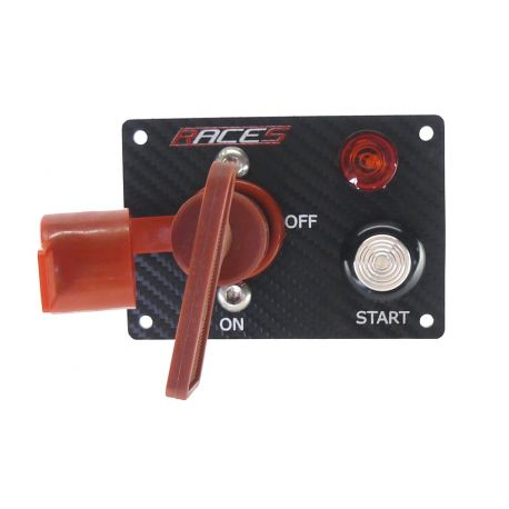 Panou comenzi Comutator start RACES ISP2 carbon | race-shop.ro