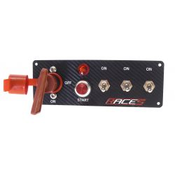 Comutator start RACES ISP3 carbon