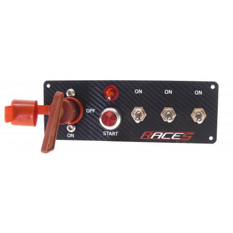 Panou comenzi Comutator start RACES ISP3 carbon | race-shop.ro