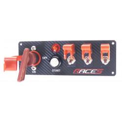 Comutator start RACES ISP4 carbon