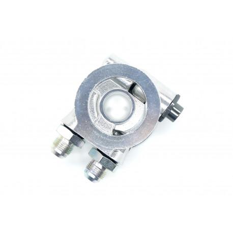 Modina filtru de ulei Modina filtru de ulei intare / ieșire AN10 cu termostat | race-shop.ro