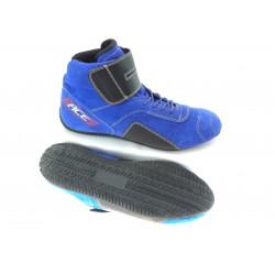 Încălțăminte RACES high albastru