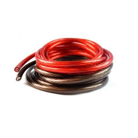 Cabluri, conectori și terminale Cablu amplificator 8mm, 21mm, 35mm 100% CU | race-shop.ro