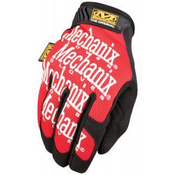 Mănuși mecanic auto Mechanix roșii