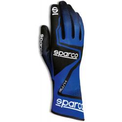 Mănuși Sparco Rush (cusătură interior) albastru