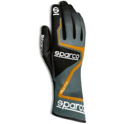 Mănuși Sparco Rush (cusătură interior) negru/ portocale