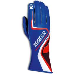 Mănuși Sparco Record (cusătură exterior) albastru