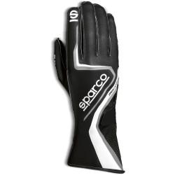 Mănuși Sparco Record (cusătură exterior) negru / griu
