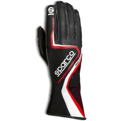 Mănuși Sparco Record (cusătură exterior) negru/ roșu