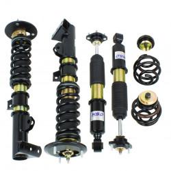 Suspensie sport reglabilă în înălțime și duritate HSD Dualtech pentru BMW 3 Series E36 Compact (93 00)