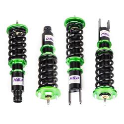 Suspensie sport reglabilă în înălțime și duritate HSD Monopro pentru Honda Civic EM2 ES1 ES2 EP1 EP2 01-05