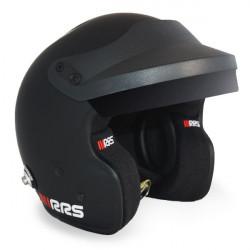 Cască RRS JET PROTECT PREMIUM BLACK FIA 8859-2015, Hans