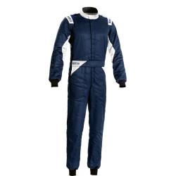Combinezon FIA Sparco Sprint albastru/alb