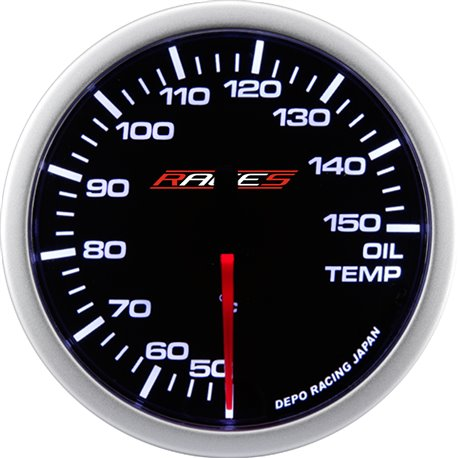 RACES Clubman Ceas indicator RACES Clubman - Temperatură ulei | race-shop.ro
