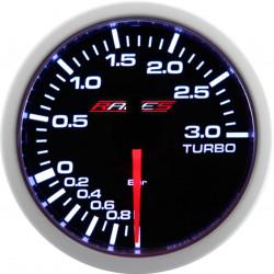 Ceas indicator RACES Clubman - Presiune turbo 3 bari