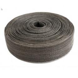 Bandă termoizolantă evacuare EXO Series DEI - 4cm x 3m - Black