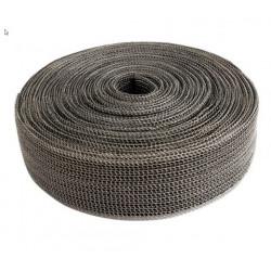 Bandă termoizolantă evacuare EXO Series DEI - 4cm x 9m Black