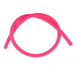 Furtun siliconic vacuum 4mm, roz