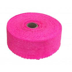 Bandă termoizolantă evacuare, roz, 50mm x 10m x 1mm