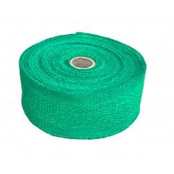Bandă termoizolantă evacuare, verde, 50mm x 10m x 1mm