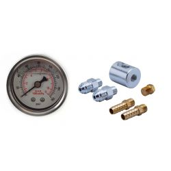 Adaptor RACES 8mm, AN6 cu manometru 0-8Bar