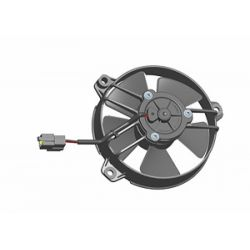 Ventilator electric universal SPAL 130mm - aspirare, 24V