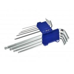 Set 9 piese chei imbus, 1.5-10mm, 260mm